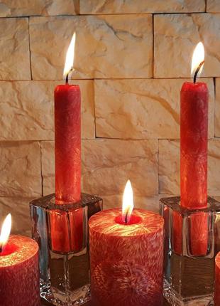 Декоративные свечи из пальмового воска, свечи из воска. 20/180 мм
