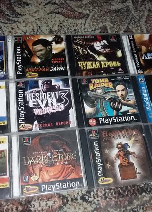 Диски одним лотом Игра PS1 Sony Playstation 1 ps one диск game 6