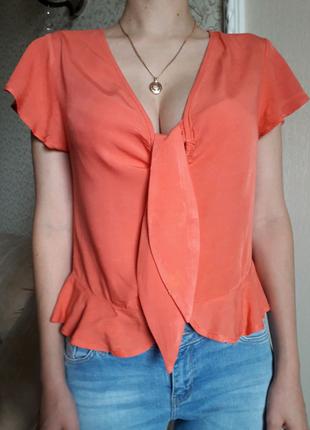 Блуза кофточка