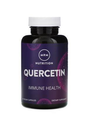 MRM, Кверцетин, Quercetin, 500 мг, 60 веганских капсул