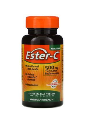 Витамин C, Ester-C, 500 мг, American Health, 90 Таблеток