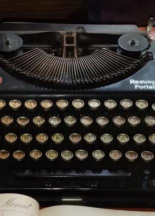 Друкарська машинка Remington Portable
