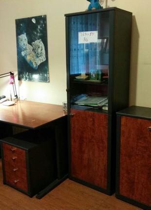 Мебель. 3 Шкафа, 2 тумбочки. 2 стола. В Детскую, офис, гостинную