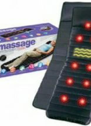 Массажный матрас с подогревом и управление massage mat