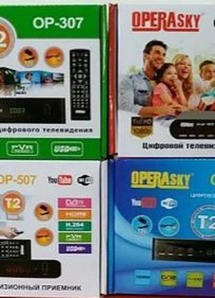 Цифровой тюнер Т2 Wi-Fi Hdmi/Usb OperaSky 207/307/407/507