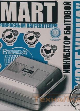 Инкубатор Рябушка Smart (теновый)ручной/механический переворот...