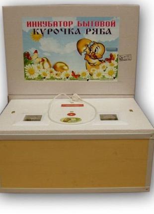 Инкубаторы Курочка Ряба на 80-100-120 яиц с автоматическим пер...