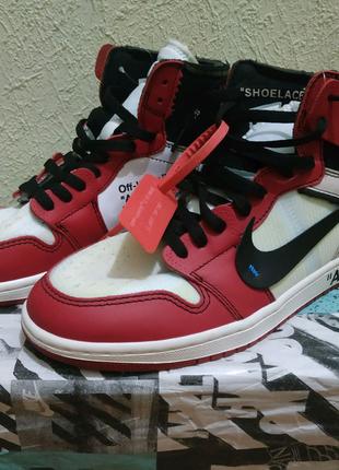 Nike Jordan 1 Retro High Off-White Chicago