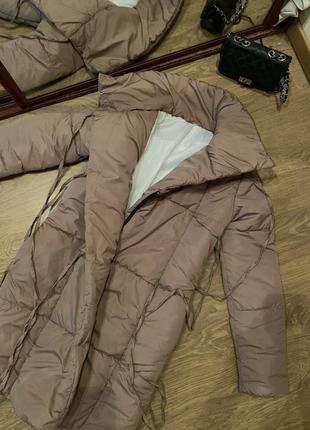 Куртка дутик  пальто пуховик одеяло