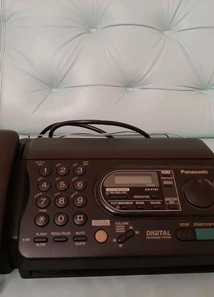 Факсимильный аппарат с автоответчиком