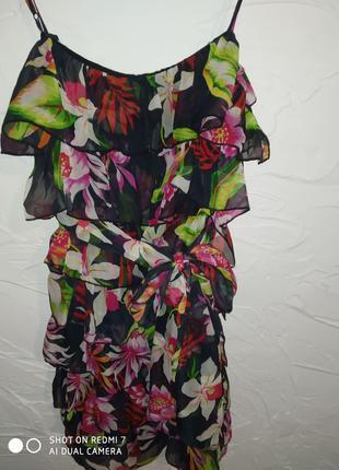 Женское лёгкое платье