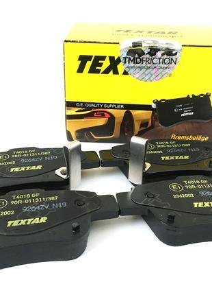 Колодки тормозные задние Textar для Toyota Avensis T25 Verso ...