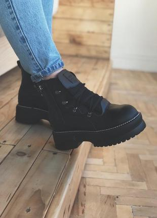 Ботинки puma rihanna fenty boots black
