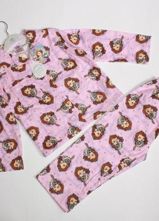 Пижама Принцесса р2-3 года Disney, фланель