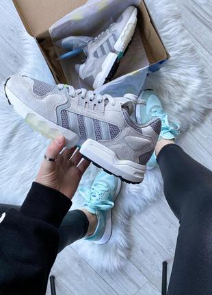 Кроссовки adidas zx torsion grey