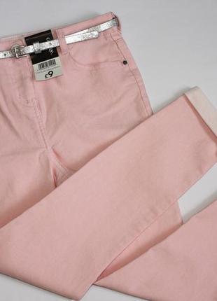 Нарядные джинсы для девочки р9-10лет george