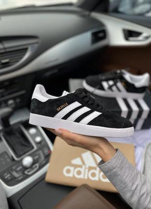 Adidas gazelle женские стильные кроссовки