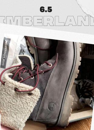 Ботинки timberland тимбы зимние оригинал