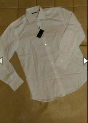 Рубашка белого цвета xacus, р.l- xl