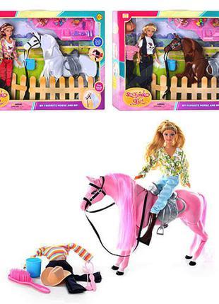 Кукла DEFA 8038 с лошадью