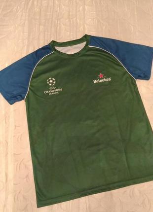 Спортивная футболка uefa champion league, р.m