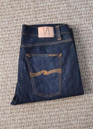Nudie jeans lean dean джинсы made in italy оригинал (w36 l34)