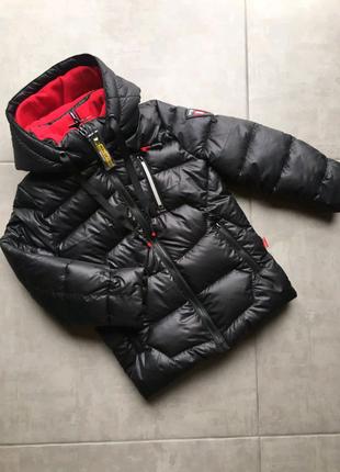 Зимняя куртка пуховик на мальчика