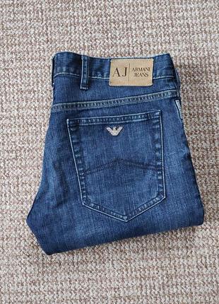 Armani jeans j23 джинсы slim fit оригинал (w34 l32)