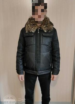 Куртка мужская 2 в 1 с пуховой подстёжкой