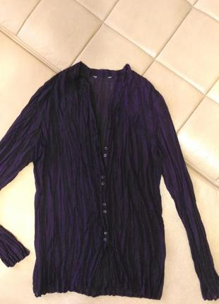 Блузка фиолетового цвета, р. m