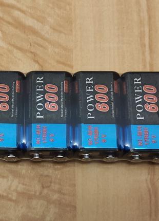 Ni-Mh аккумулятор 600 mAh Крона 6F22 9V