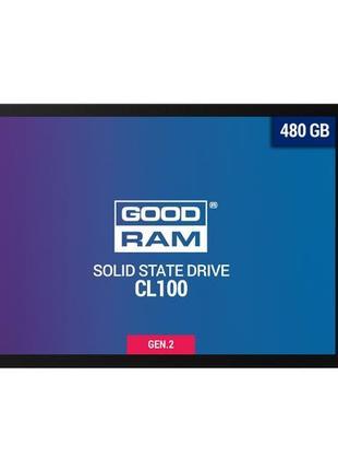 "Накопитель SSD 480GB GOODRAM CL100 GEN.2 2.5"" SATAIII TLC"
