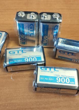 Ni-Mh аккумулятор 900 mAh Крона 9В, 6F22