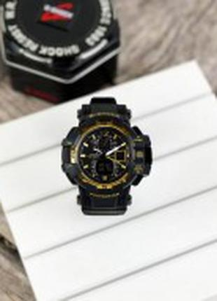 Casio G-Shock GW-A1100 Black-Gold