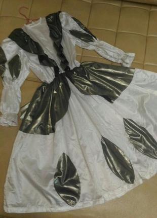 Карнавальное платье принцессы, 4-5 лет