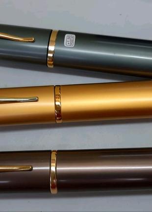 Очки Ручка Половинки Лектор в тубусе. Готовые металлические. Изюм