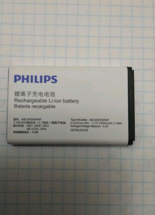 Батарея аккумулятор Philips Xenium E109 AB1000EWMF