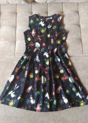 Платье для нового года, рождества, р.l