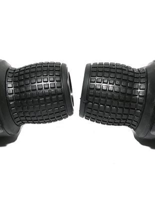Шифтеры манетки переключатели Gripshift SL-08 3x7 с тросиками