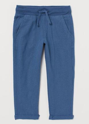 H&m детские брюки чиносы  для мальчика на 4-5 лет