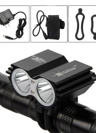 Велофара Bike Light X2 Solarstorm XML T6