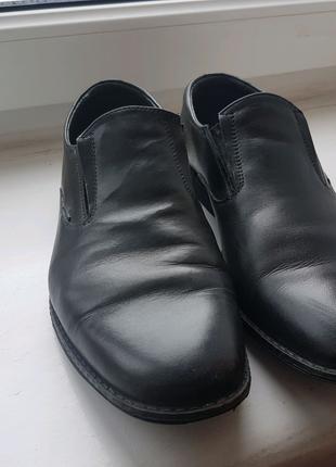 Туфлі чоловічі шкіряні МІДА