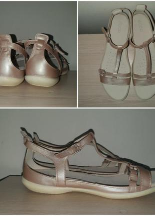 Босоножки 42, 43 р кожаные сандалии большого размера
