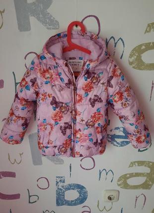 Куртка palomino девочка 5 лет (110см) в идеале