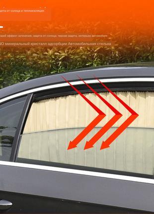 Универсальные автомобильные солнцезащитные шторки