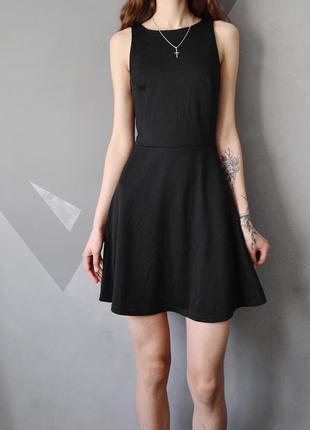 Короткое трикотажное платье без рукавов h&m