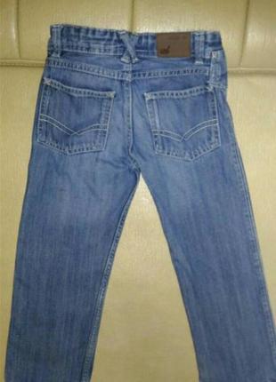 Детские джинсы тёмно-синего цвета на возраст 3-5 лет, на рост ...