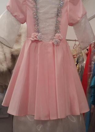 Новогоднее платье Принцессы, карнавальный костюм