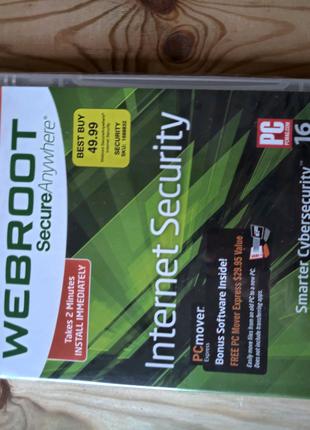 Webroot антивирус. Лицензия.