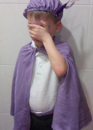 Карнавальный костюм детский принц паж на 3-6 лет